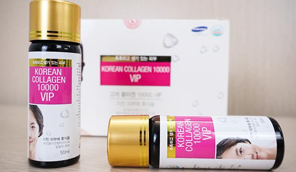 Nước uống collagen VIP 10000 Hàn Quốc giúp trẻ hóa làn da